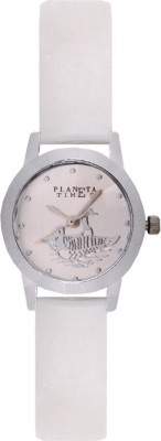 Planeta Times PLT-026-L-WHT_016 Analog Watch  - For Women