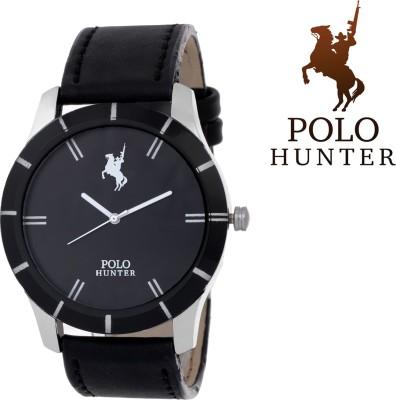 Polo Hunter Winsome Elegant Strap Casino Luxury Gents Formal Stylo Analog Watch  - For Men