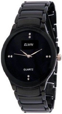 ELWIN black doom eleganza Analog Watch  - For Men, Boys
