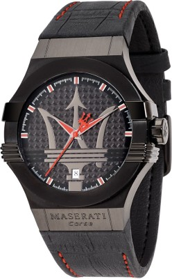 Maserati Time R8851108010 Potenza Analog Watch  - For Men, Boys