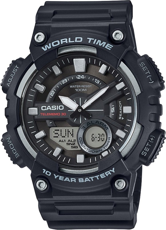 Casio AD207 Youth Series Analog Digital Watch For Men