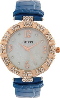 Kezzi JW041BU Decker Analog Watch  - For Women