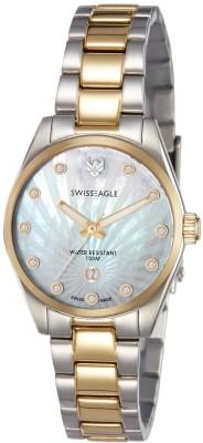 Swiss Eagle SE-6048-33 Analog Watch  - For Women