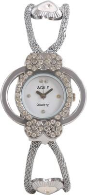 Agile AG240 Fabric Analog Watch  - For Women, Girls