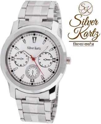 Silver Kartz WTMM-035 Analog Watch  - For Boys, Men