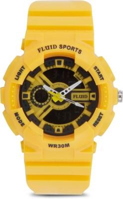 Fluid DMF-004-YL01 Analog-Digital Watch  - For Boys