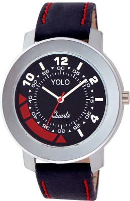 Yolo YGS-017BK Analog Watch  - For Boys, Men