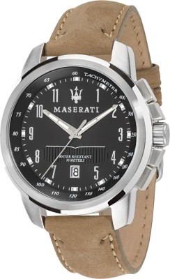 Maserati Time R8851121004 Successo Analog Watch  - For Men, Boys