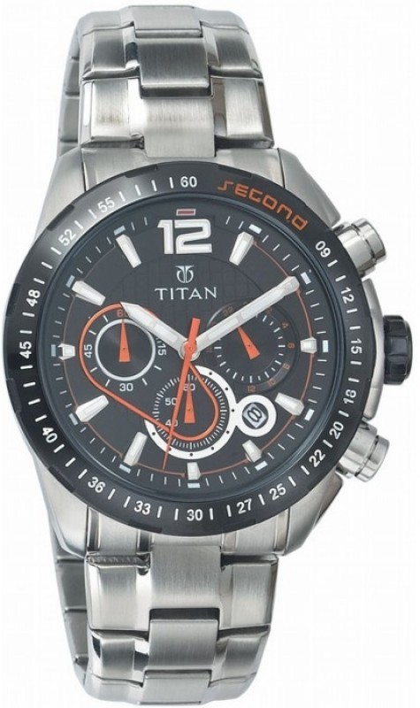Titan NF9447KM01 Octane Analog Watch - For Men