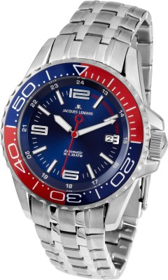 Jacques Lemans 1-1353F Sports Analog Watch  - For Boys, Men