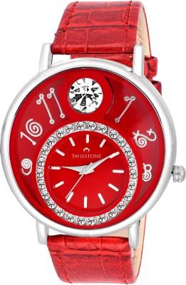 Swisstone VOGLR321-RED Analog Watch  - For Women, Girls
