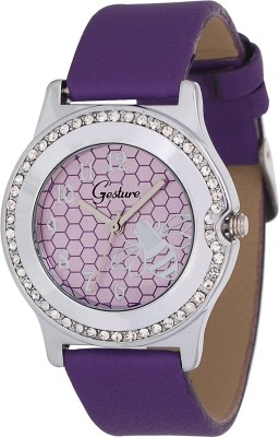 Gesture Gesture Elegant 1015-PR Watch for Women Elegant Analog Watch  - For Women