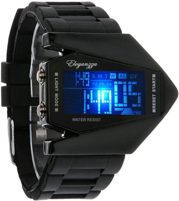 Eleganzza Aircraft Digital Watch For Men