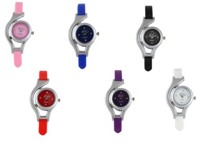 KCD CASUALS-COMBO-6 Analog Watch  - For Girls, Women