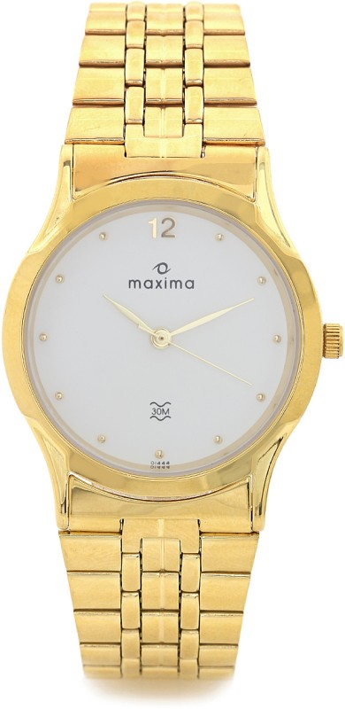 Maxima 01444CMGY Analog Watch For Men