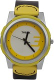 TOREK TOREK YELLOW STRAP-DIAL MENS ANALO...