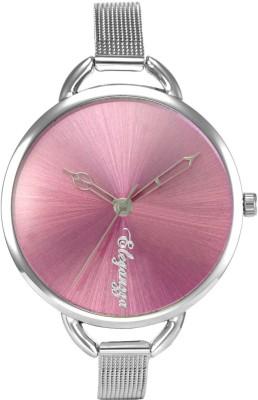 Eleganzza Vibrant Pink Fashion Casual Analog Watch  - For Women, Girls