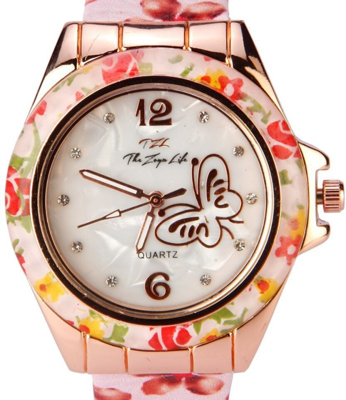 Zoya 919 Butterfly Analog Watch For Women WATE954V5YGY46KQ