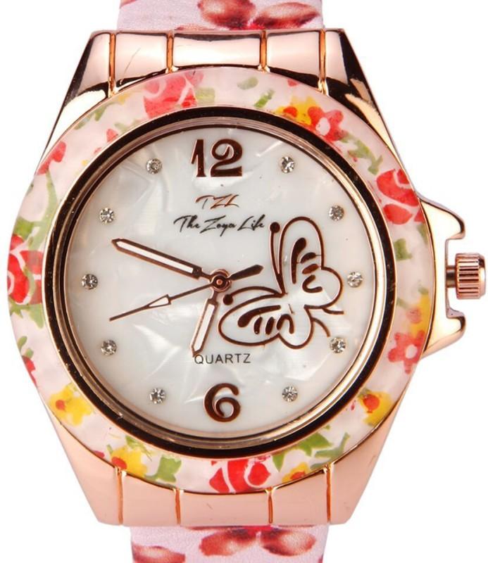 Zoya 919 Butterfly Analog Watch For Women