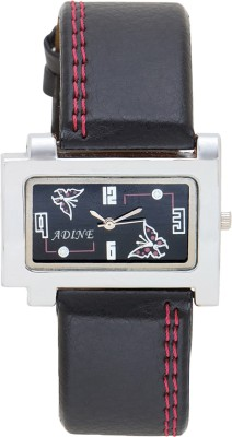 Adine ad-1241blk Analog Watch  - For Girls, Women