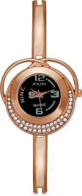 Atkin AT-146 Copper Analog Watch  - For Women, Girls