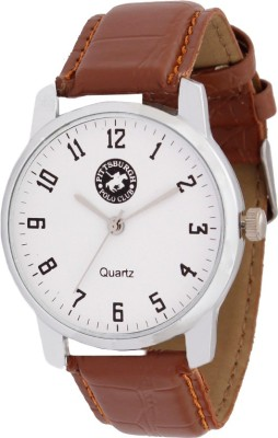 Pittsburgh Polo Club PBPC-455-WHT_343 Analog Watch  - For Men