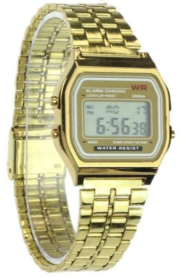 Bolt srg064-gold Digital Watch  - For Men