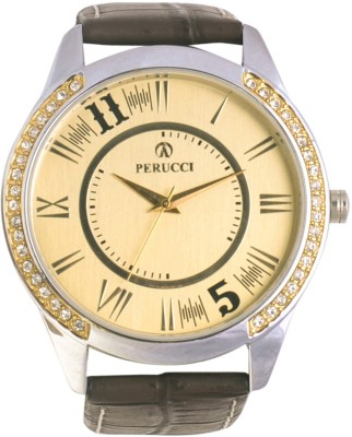 Perucci PCC-414G Decker Analog Watch  - For Men