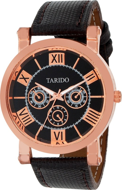 Tarido TD GR209 BLK BLK Analog Watch For Men
