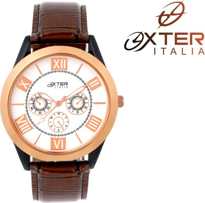 Oxter White Explorer Stylish Collection Analog Watch  - For Men, Boys