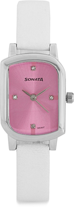 Sonata NG87001SL02 Heather Analog Watch For Women