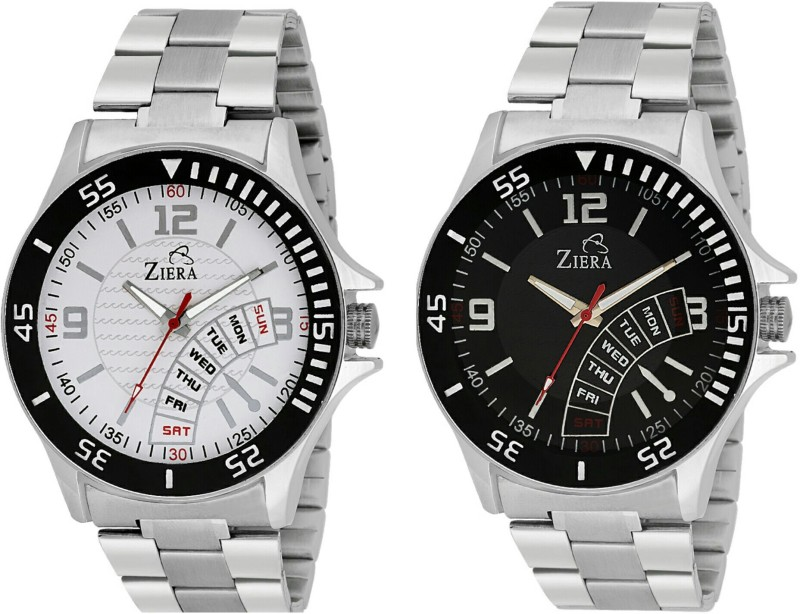 Ziera ZR 2256ZR 2288 Limited Addition Combo Analog Watch For