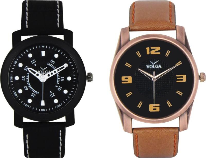 VOLGA Branded Leather Quality Designer Dial Diwali WATEN6XG3ECKV6RG