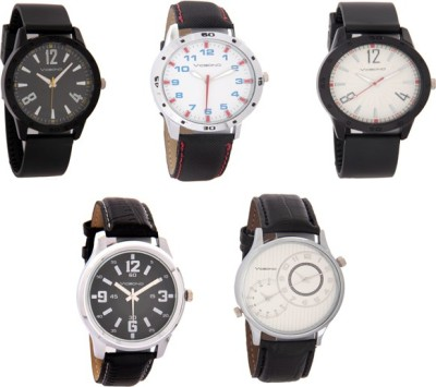 Vicbono 12345 Set of 5 Watches Analog Watch  - For Men