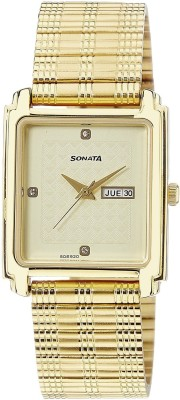 Sonata 7053YM08 Analog Watch - For Men