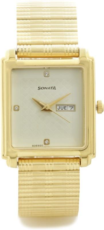 Sonata 7053YM08 Analog Watch For Men