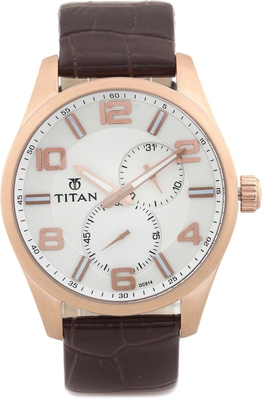 Titan 90010WL01 Analog Watch For Men
