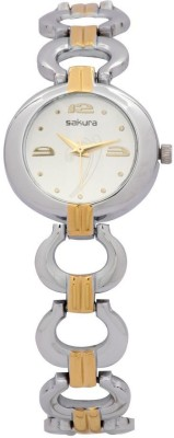 Sakura Quartz 2221 Fancy Range Analog Watch  - For Women