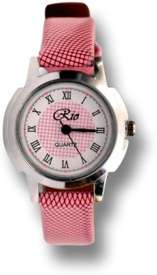 Rio Ri-pk-01 Sunday Analog Watch  - For Girls