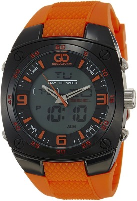 Gio Collection GLED-2046F Special Collection Analog-Digital Watch  - For Men