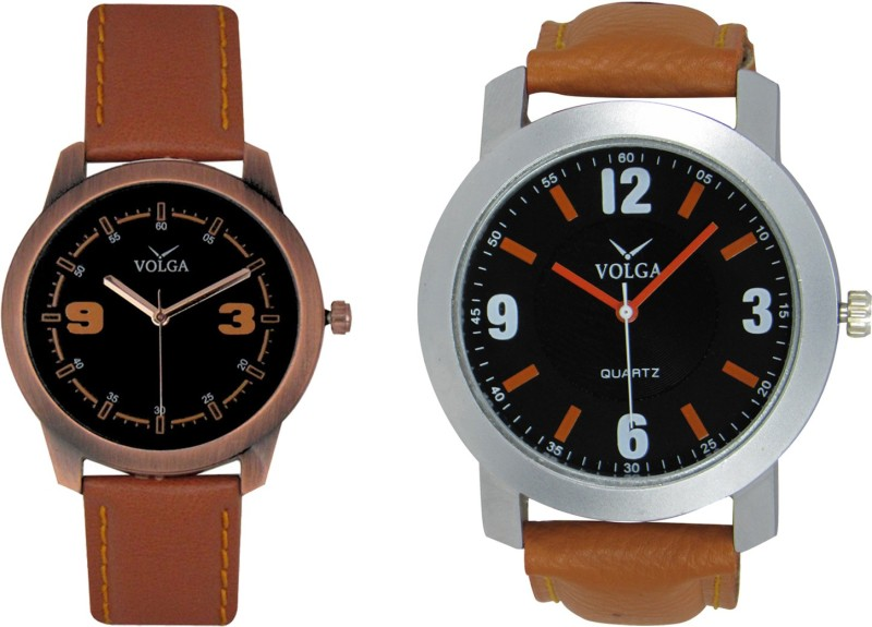 VOLGA Branded Leather Quality Designer Dial Diwali WATEN6XKBFUXZ6WH
