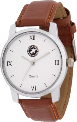Pittsburgh Polo Club PBPC-450-WHT_338 Analog Watch  - For Men