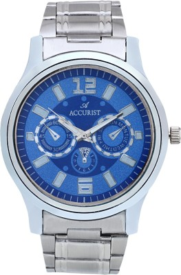 Accurist ACMW023 Blue Chronograph Pattern Analog Watch  - For Men, Boys