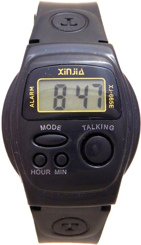 Xinjie XJ665E Talking Watch Digital Watch For Men