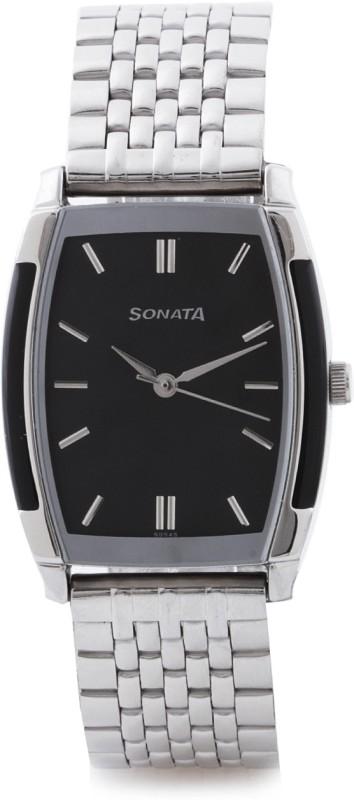 Sonata NG7080SM02C Analog Watch For Men