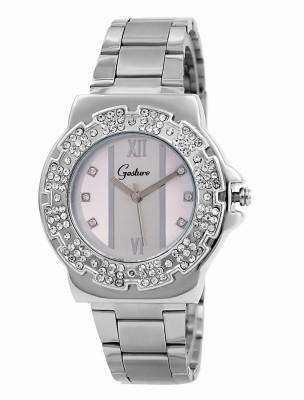 Gesture Gesture Elegant 9005-Sl Watch For Women Elegant Analog Watch  - For Women