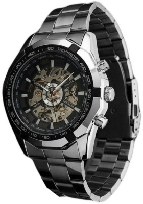 Addic Super Luxury Without Battery For Life Mechanical Analog Watch  - For Men