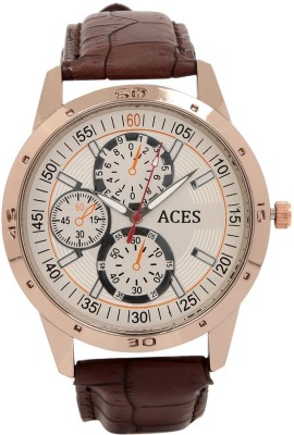 Aces A-0C011.CO-BR Analog Watch  - For Men