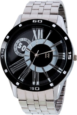 Excelencia MW-01-Silver-BLK Analog Watch  - For Men
