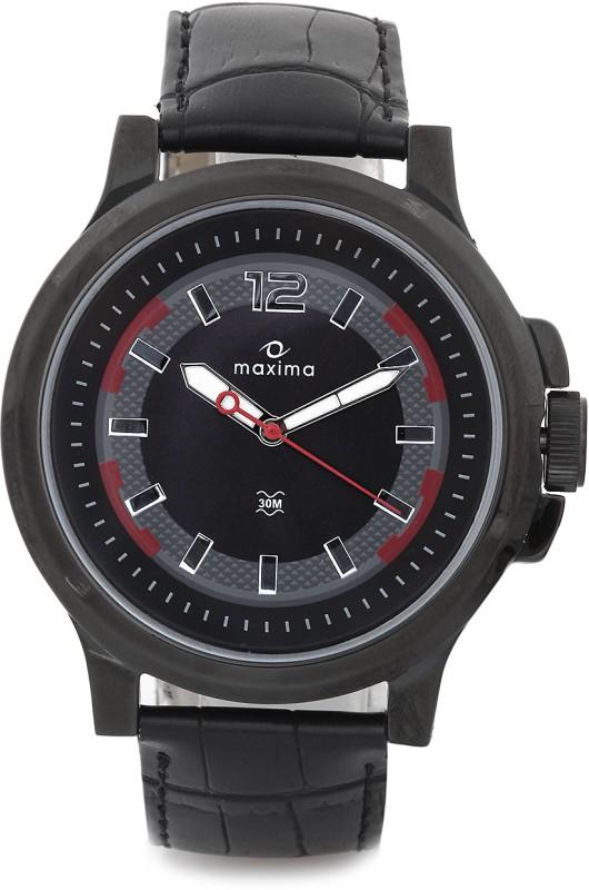 Maxima 24600LMGB Attivo Analog Watch For Men